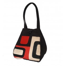 Handbag Black Retro