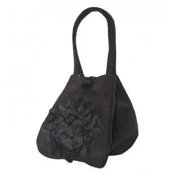Handbag Black  Multifiore