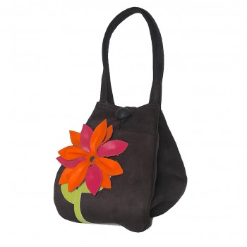 Handbag Bright Gerbera
