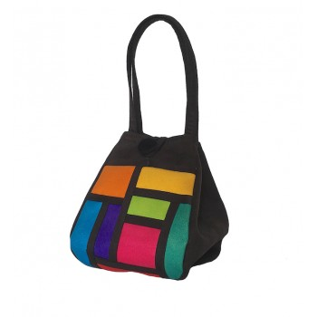 Handbag colour block