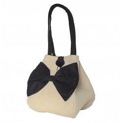 Handbag  Black Bow