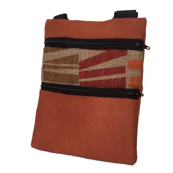 Mini Shoulder Bag Rust Blocks