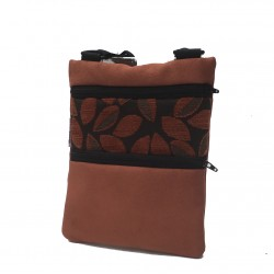 Mini Shoulder Bag Rust Leaves