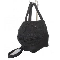 Shoulder Bag Black Patch