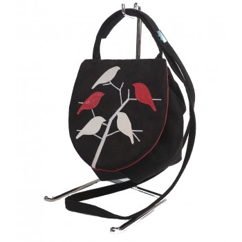 Shoulder  Bag Red Birds