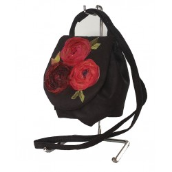 Shoulder Bag Red Roses