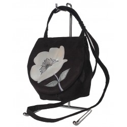 Shoulder Bag Silver Poppy