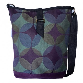 Tote Bag Purple Circles